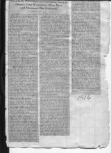 Article from the 1916 Revolutionary War Memorial Dedication
